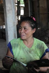 ภาพช่างไทย: นาง ถวิล ทองดี