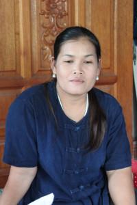 ภาพช่างไทย: นาง ไพวัล แผ่นทอง